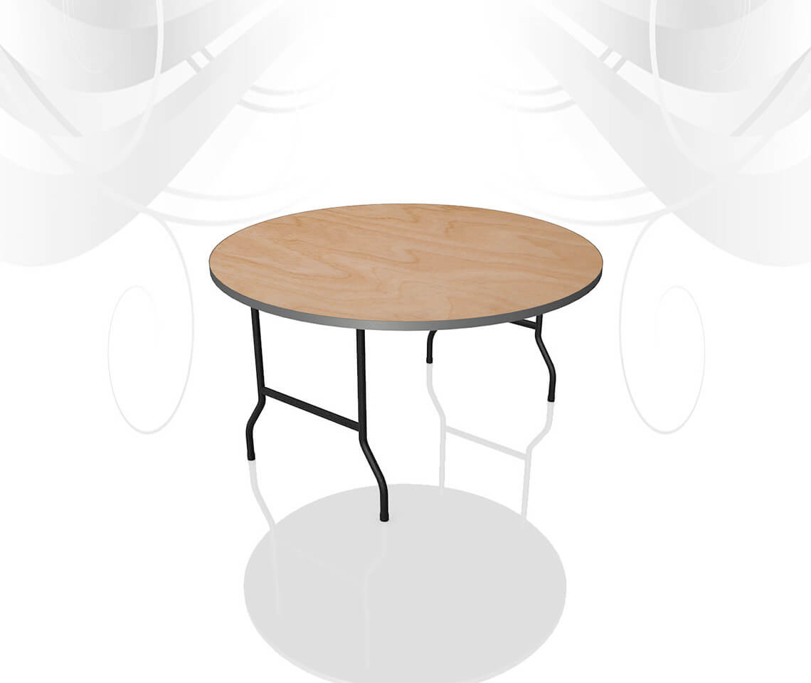 4ft Round Dining Table Furniture4events