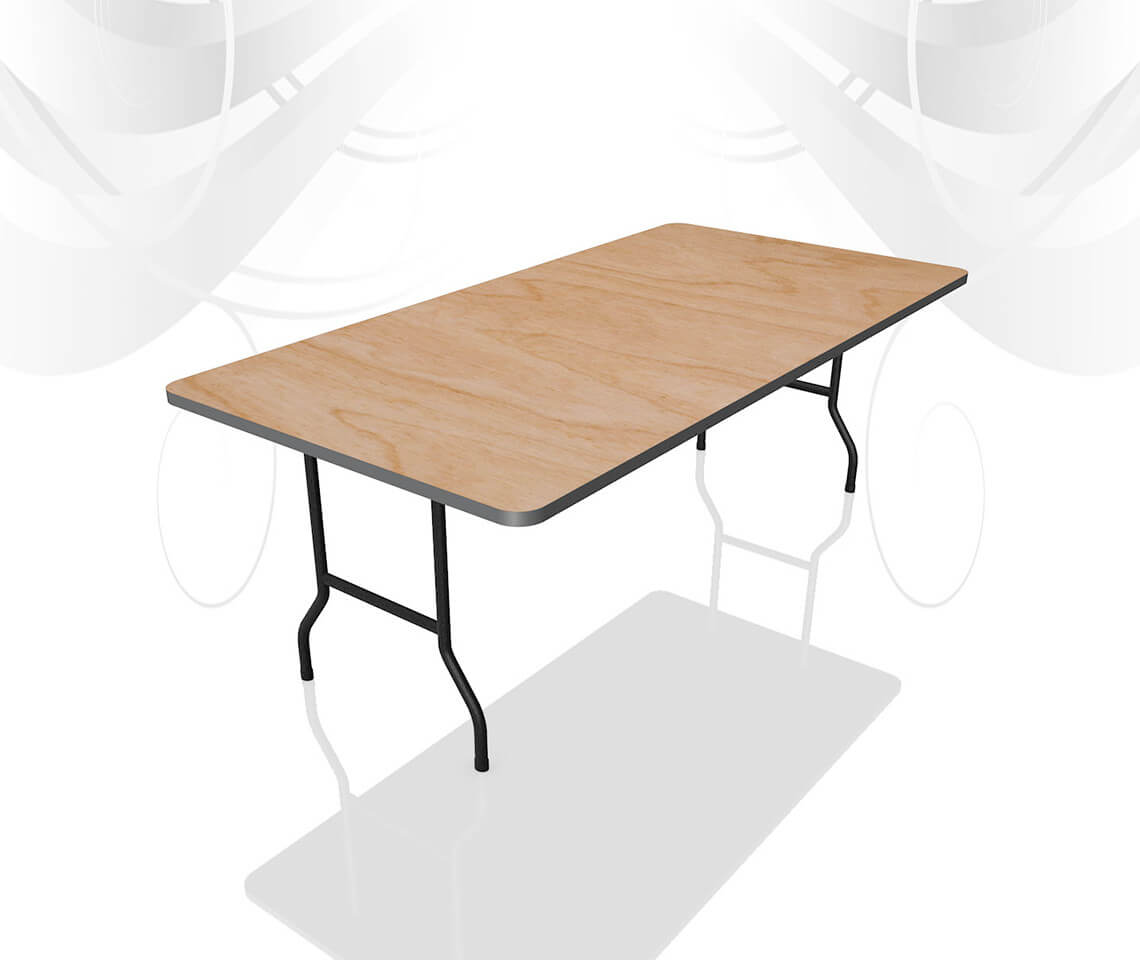 6ft X 3ft Trestle Table Furniture4events