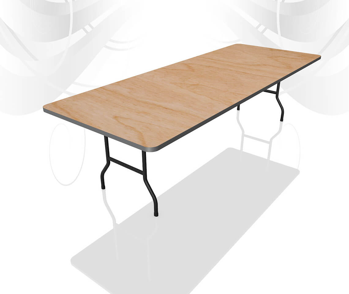 8ft X 3ft Dining Table Furniture4events