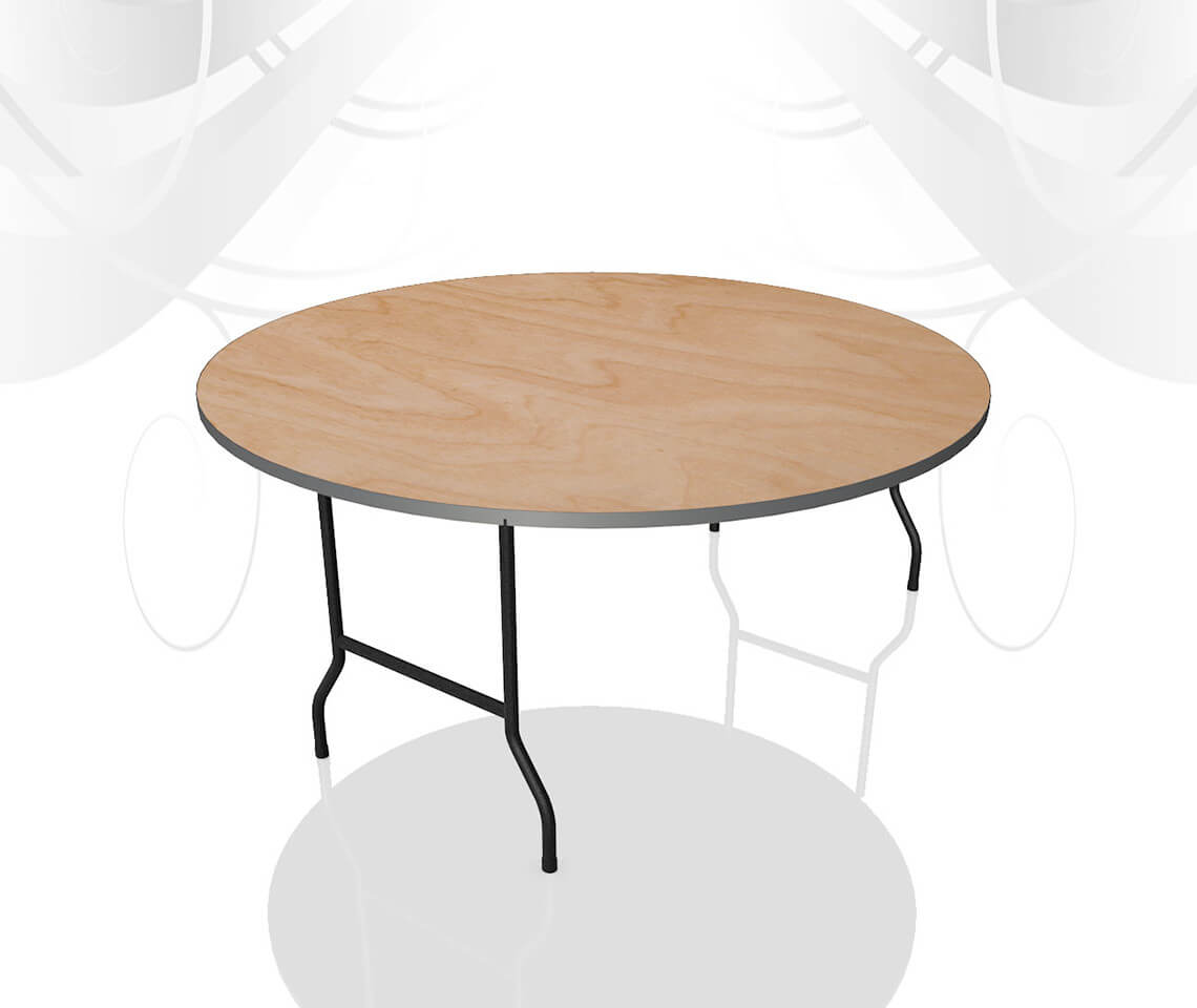 5ft Round Dining Table Furniture4events